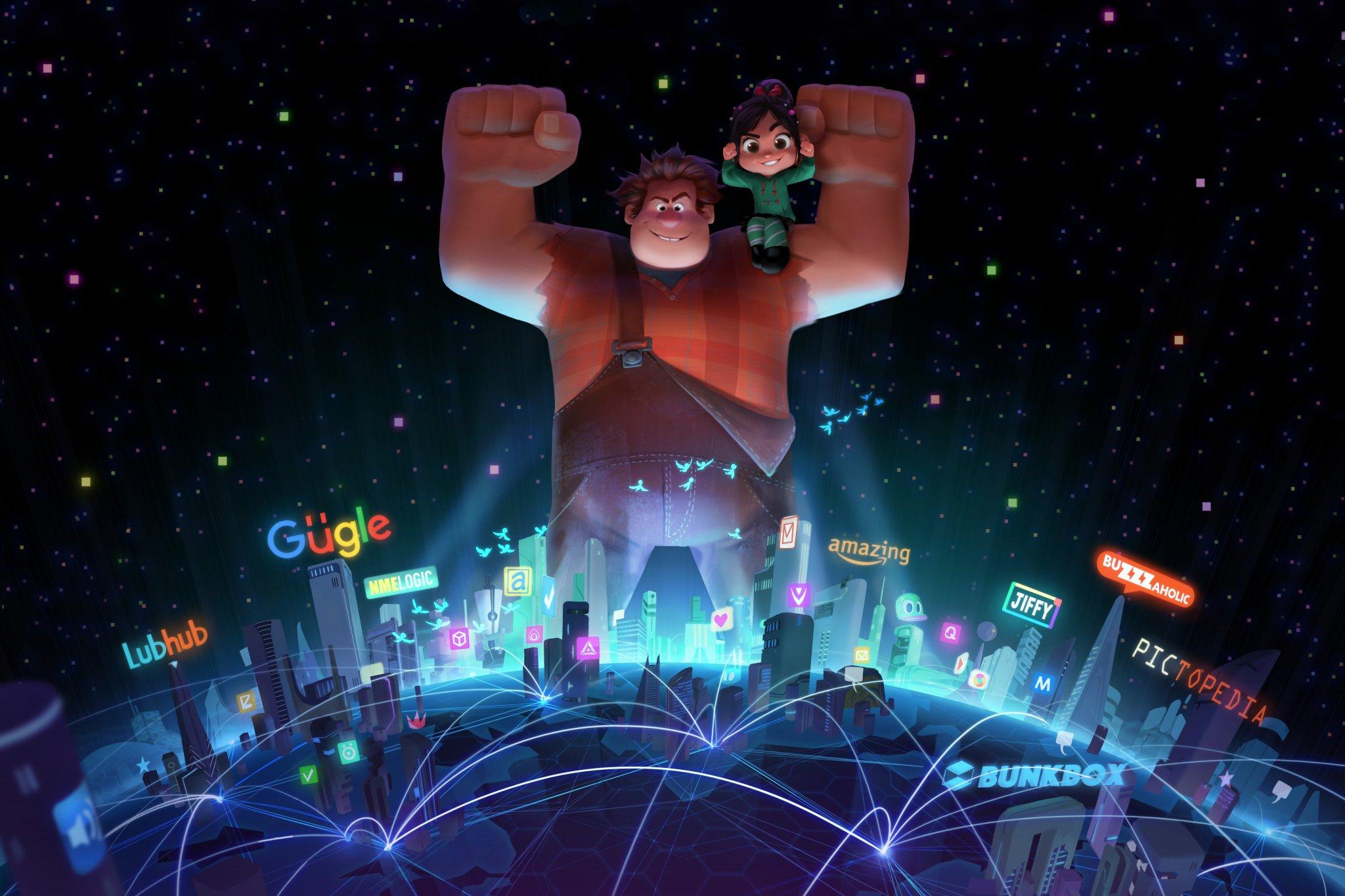 映画『シュガーラッシュ2』あらすじキャスト公開日は!?今回はゲームを離れインターネットの世界へ!
