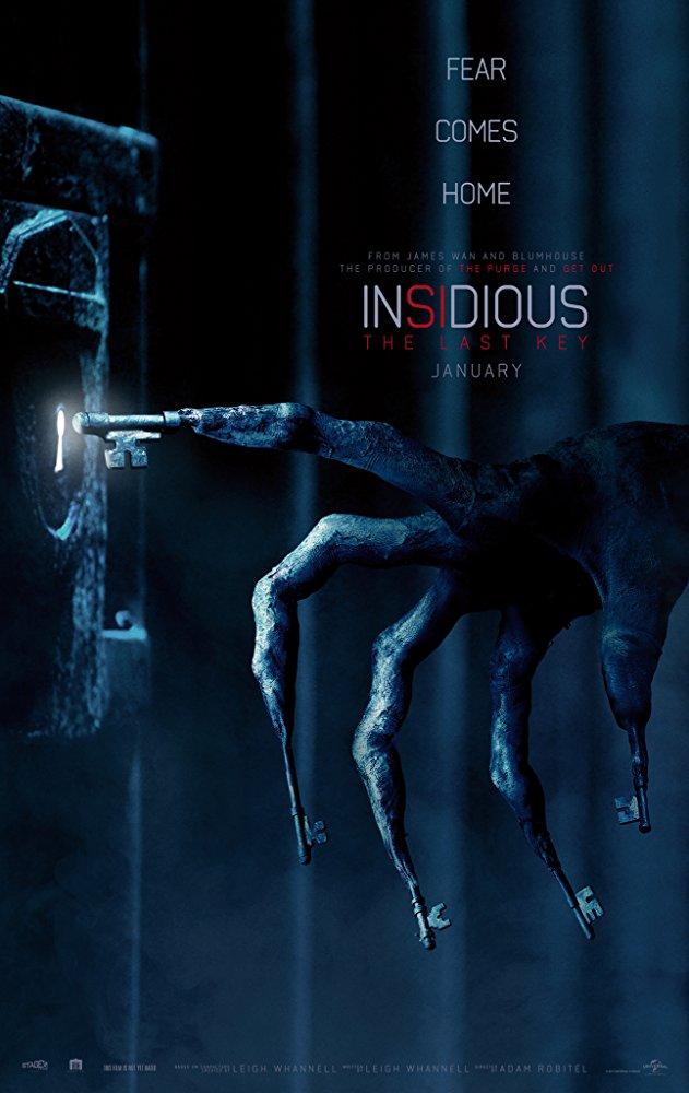 映画[インシディアス4:The Last Key]あらすじと日本公開日は?キャスト紹介!主役エリーゼとその家族の恐怖を描く!