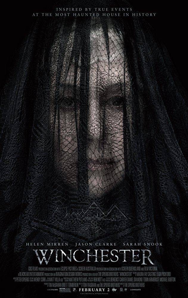 映画[Winchester]あらすじ日本公開日は?実在の幽霊屋敷を元に[ソウ]のスピエリッグ兄弟が描くホラー映画が2018年公開だ!キャストも