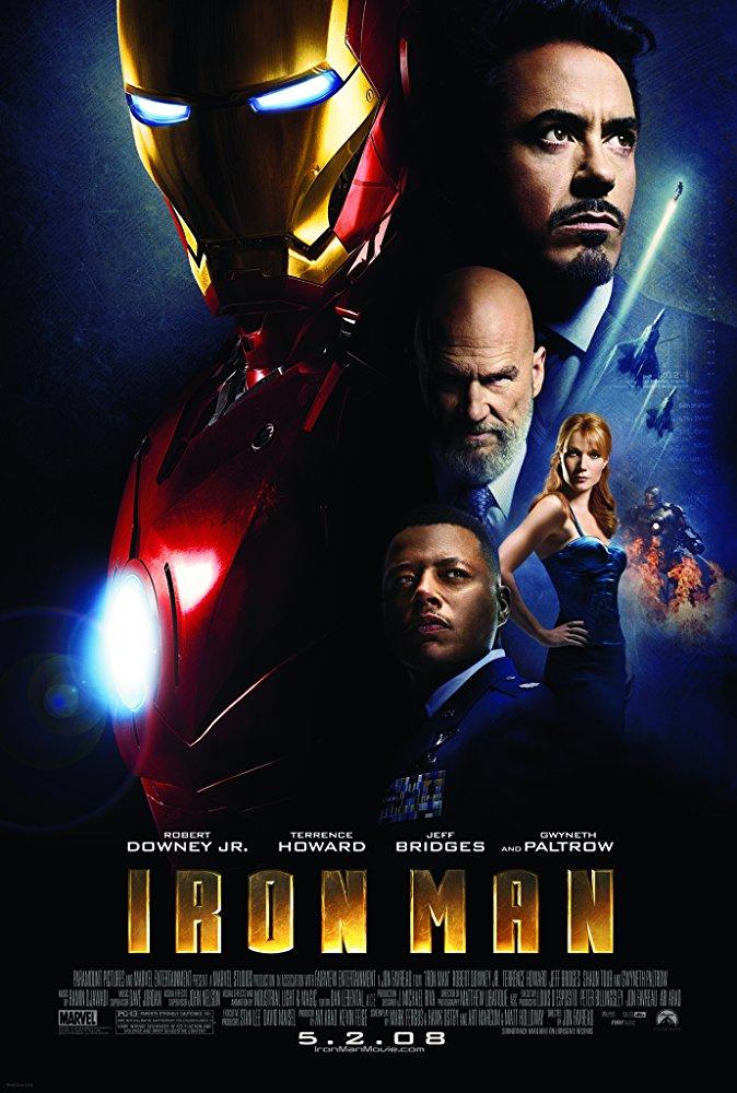 マーベル映画アイアンマンのポスター