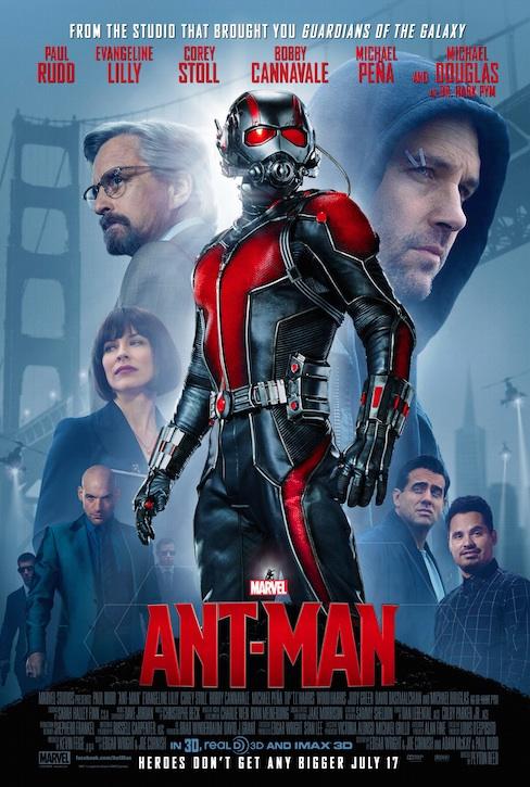 マーベル映画アントマンのポスター