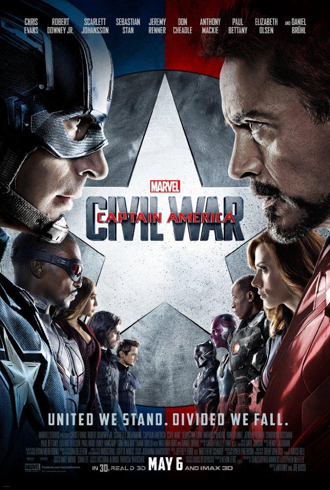 マーベル映画キャプテンアメリカのポスター