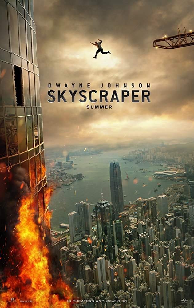 映画『スカイクレイパー』あらすじとキャスト?日本公開日迫る!【ドウェインジョンソン主演の2018年映画多い!】