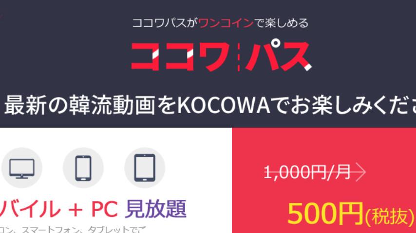韓流特化のKOCOWAの特徴、料金やデメリットをやさしく解説
